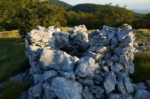 Alpenmuur - Mitrailleursnest Trstenik
