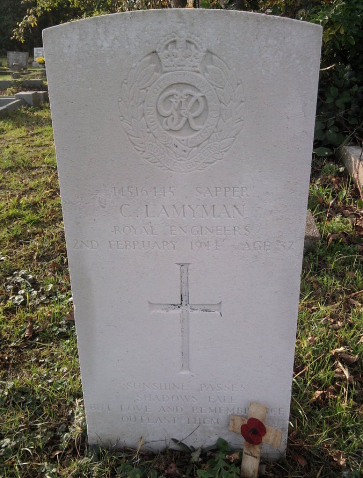 Commonwealth War Grave Billinghay Cemetery