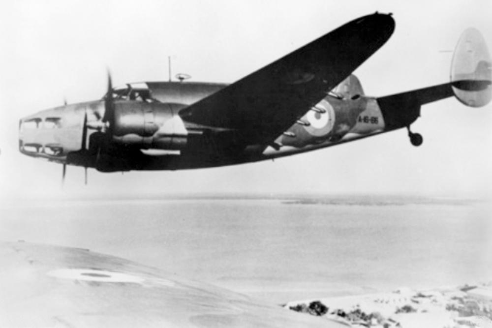 Crashlocatie Lockheed Hudson Mk V AE649 (IJmuiden pier)