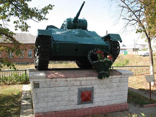 Massagraf Sovjet Soldaten & T-70 Tank Solonytsivka