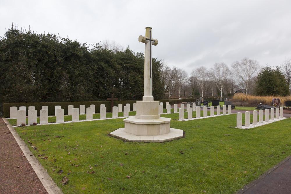 Oorlogsgraven van het Gemenebest Algemene Begraafplaats Winterswijk