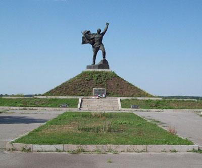 Massagraf Sovjet Soldaten Borshchiv