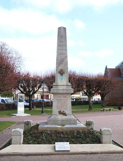 Oorlogsmonument Sainte-Geneviève-des-Bois