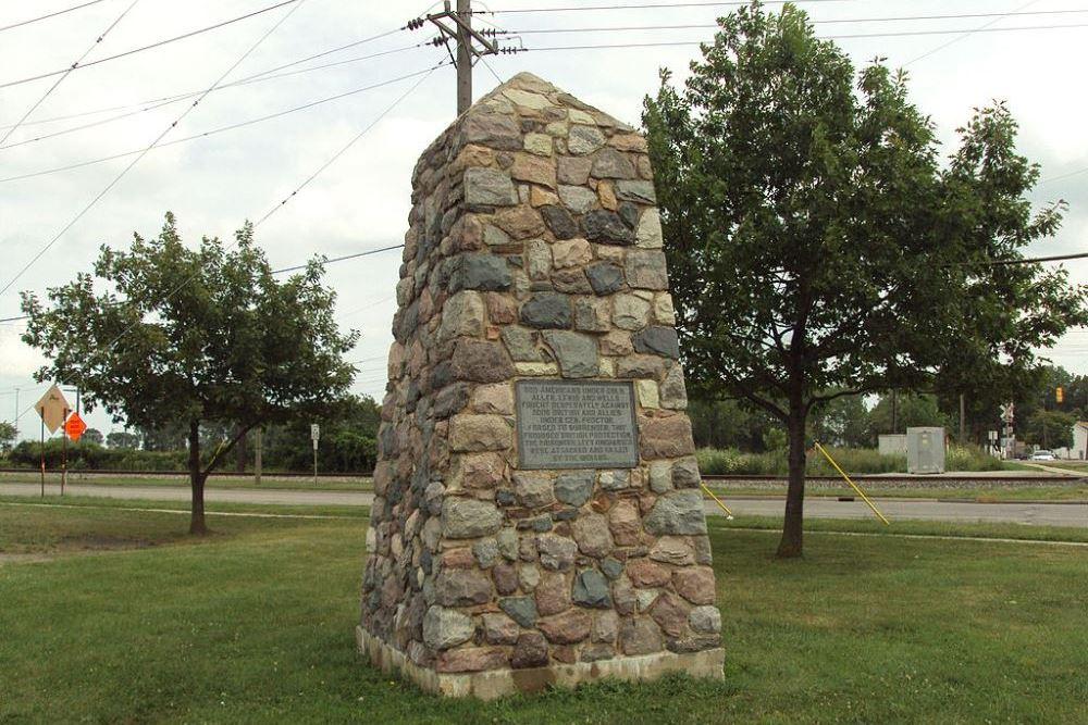 Monument Slag van Frenchtown