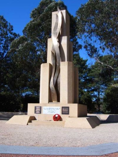 Monument Rats of Tobruk Canberra