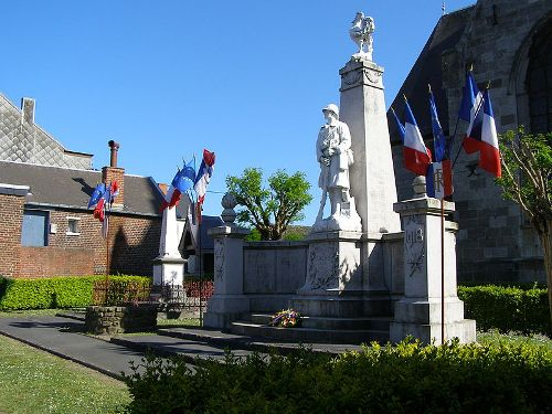 Oorlogsmonument Cousolre