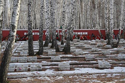 Sovjet Oorlogsbegraafplaats Chelyabinsk