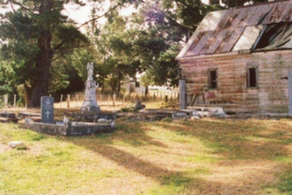 Commonwealth War Grave Homewood Maori Cemetery