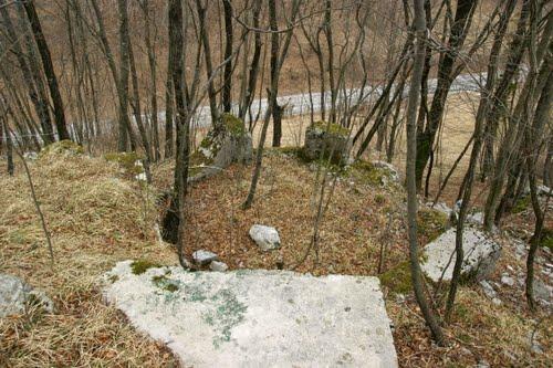 Alpine Wall - Gun Emplacement Studena