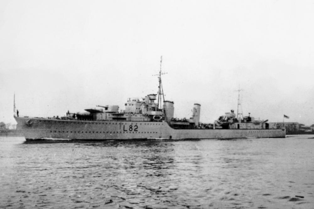 Shipwreck H.M.S. Sikh