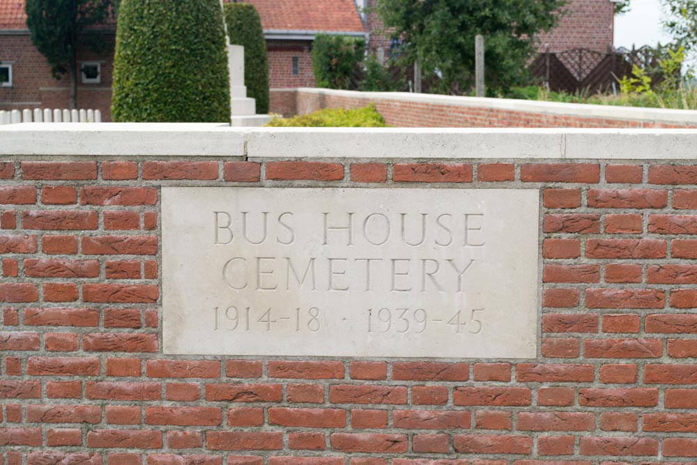 Commonwealth War Cemetery Bus House
