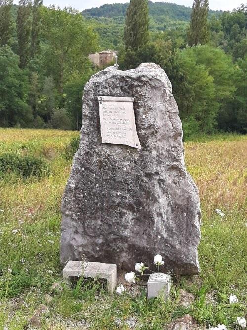 Memorial Stone Near Niccone
