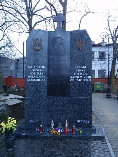 Monument Stalinistische Terreur 1939-1940