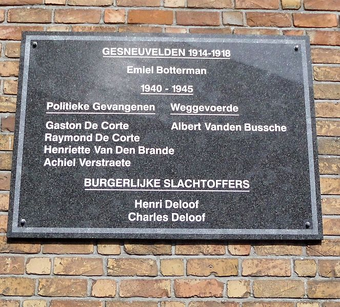 War Memorial Sint-Joris