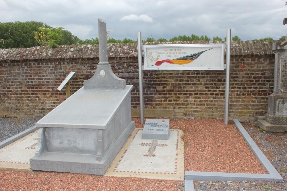Belgian War Graves Autre-Eglise