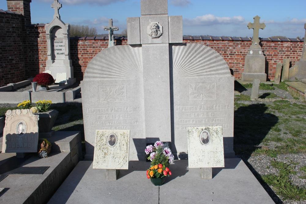Belgische Oorlogsgraven Moustier