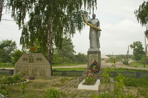Sovjet Oorlogsbegraafplaats Dovzhyk