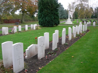 Commonwealth War Graves Carlisle Cemetery