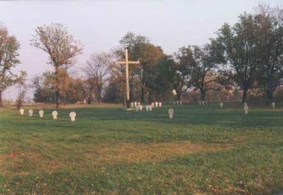 Duitse Oorlogsbegraafplaats Insterburg / Chernyakhovsk