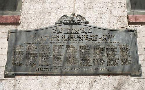 Oorlogsmonument Tweede Wereldoorlog E 7th Street