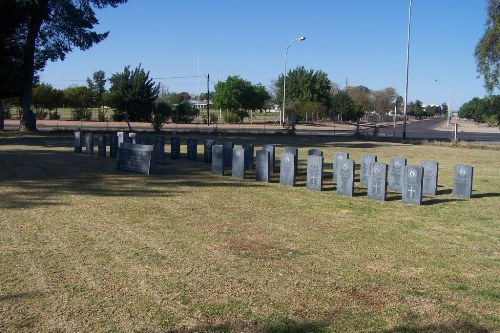 Commonwealth War Graves Upington Station Cemetery