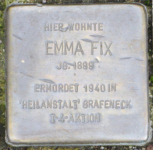 Stumbling Stone Gartenstraße 2