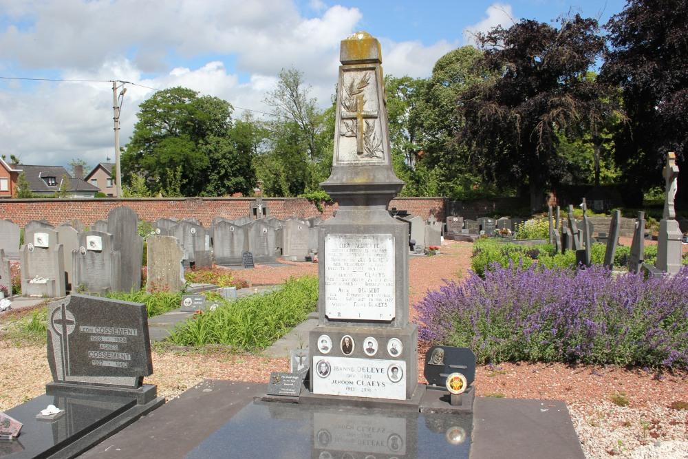 Belgische Oorlogsgraven Zwevegem