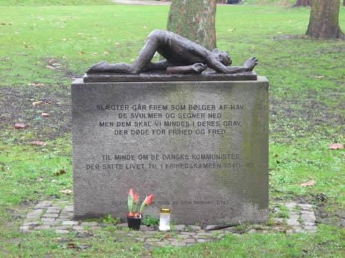 Monument Communistische Vrijheidsstrijders Kopenhagen