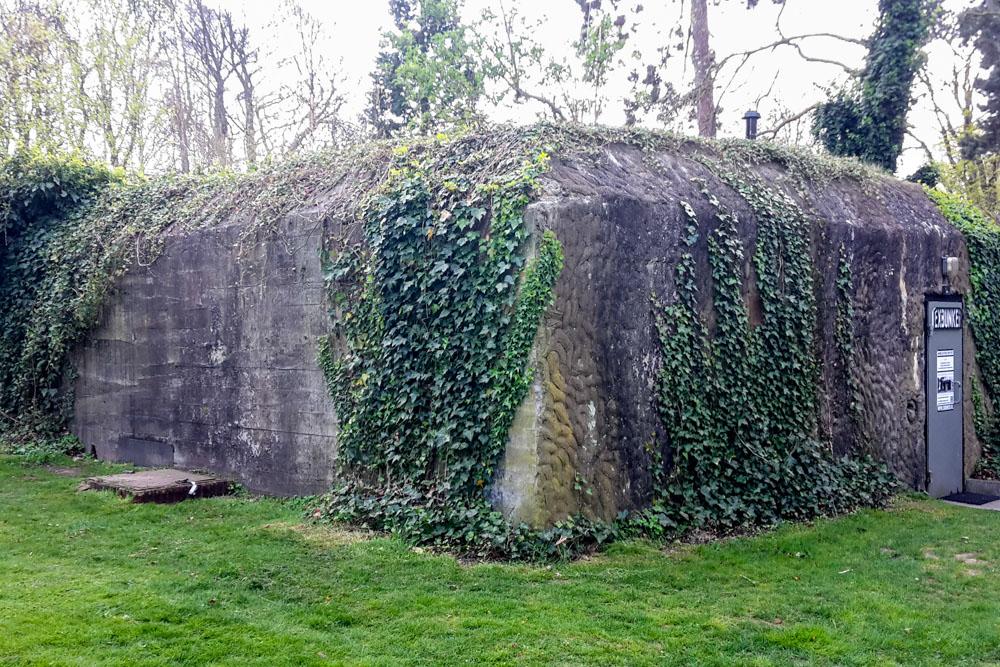 German Bunker Wilhelminapark