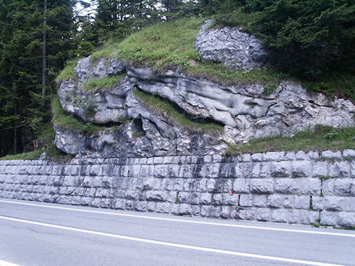 Alpine Wall - Camouflaged Bunker