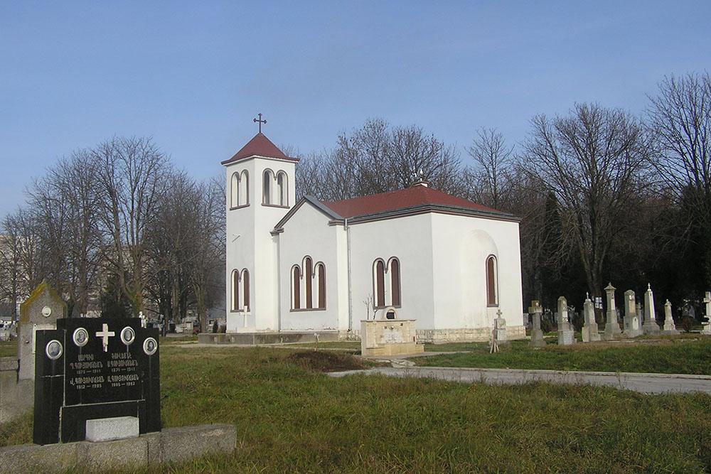 Mass Grave Soviet Soldiers Varna