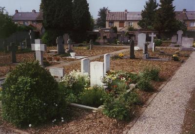 Oorlogsgraven van het Gemenebest Rooms Katholieke Begraafplaats Born