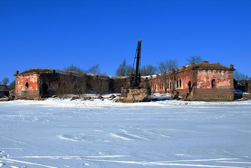 Fortress Kronstadt - Fort North No. 4