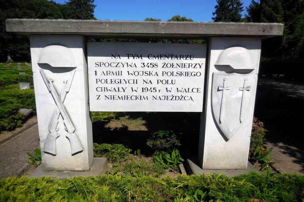 Polish War Cemetery Drawsko Pomorskie