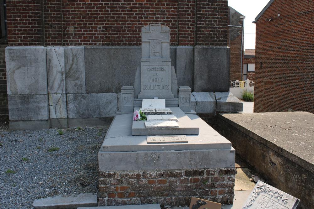 Monument Oudstrijders Pousset