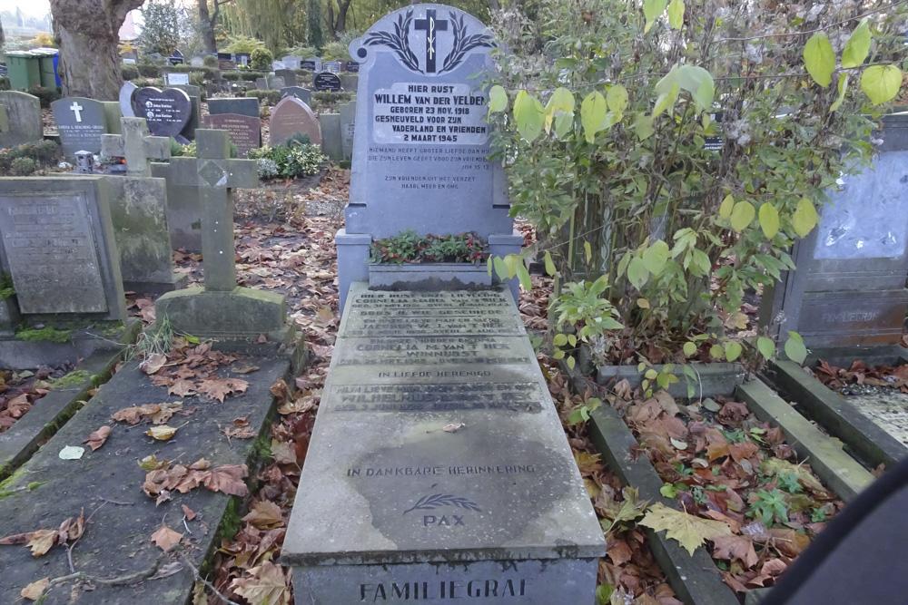 Nederlandse Oorlogsgraven Rooms Katholieke Begraafplaats Hoorn