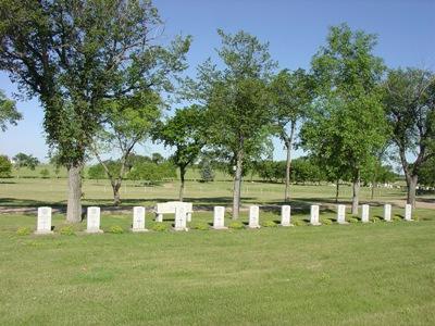 Commonwealth War Graves Estevan Cemetery