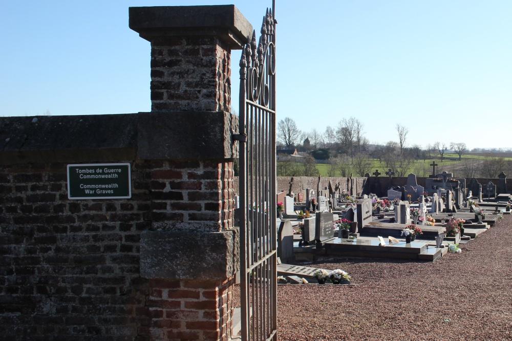 Oorlogsgraven van het Gemenebest Irchonwelz