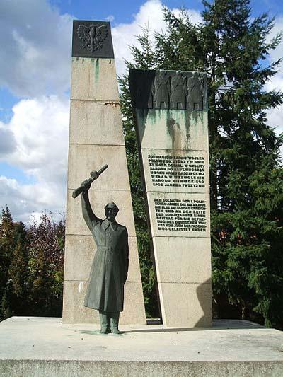 Monument 1e Poolse Leger Sandau