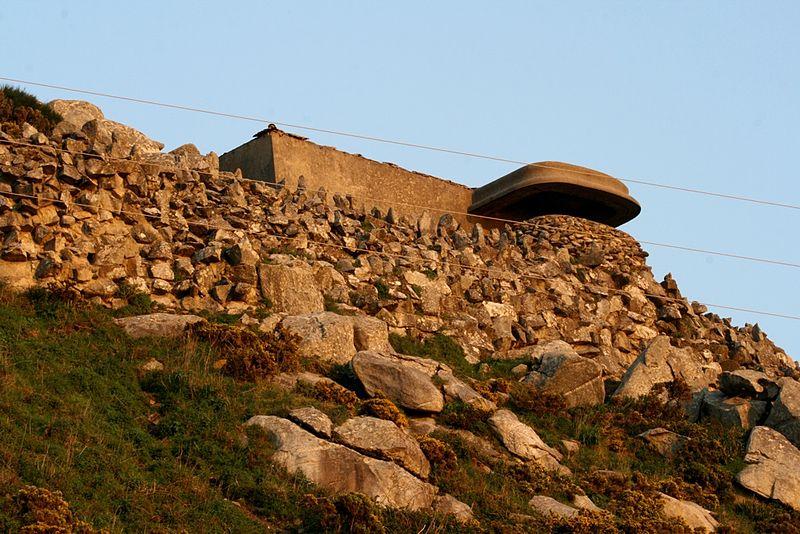 Observation Bunker Batería J-4 Cabo Silleiro