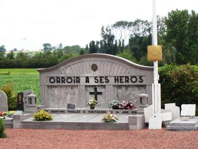 Belgische Oorlogsgraven Orroir