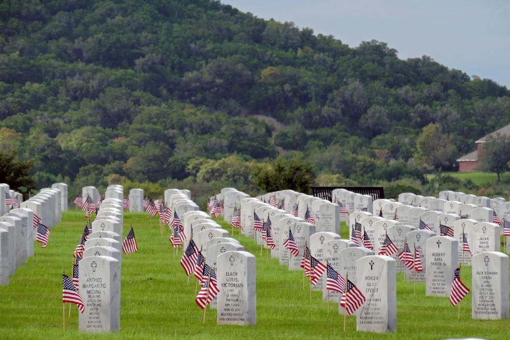 Amerikaanse Oorlogsgraven Central Texas State Veterans Cemetery