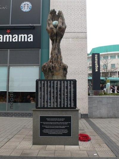 Monument Slachtoffers Blitz Birmingham