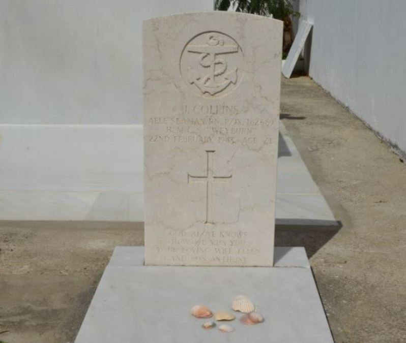 Commonwealth War Grave Municipal Cemetery Zahara de los Atunes