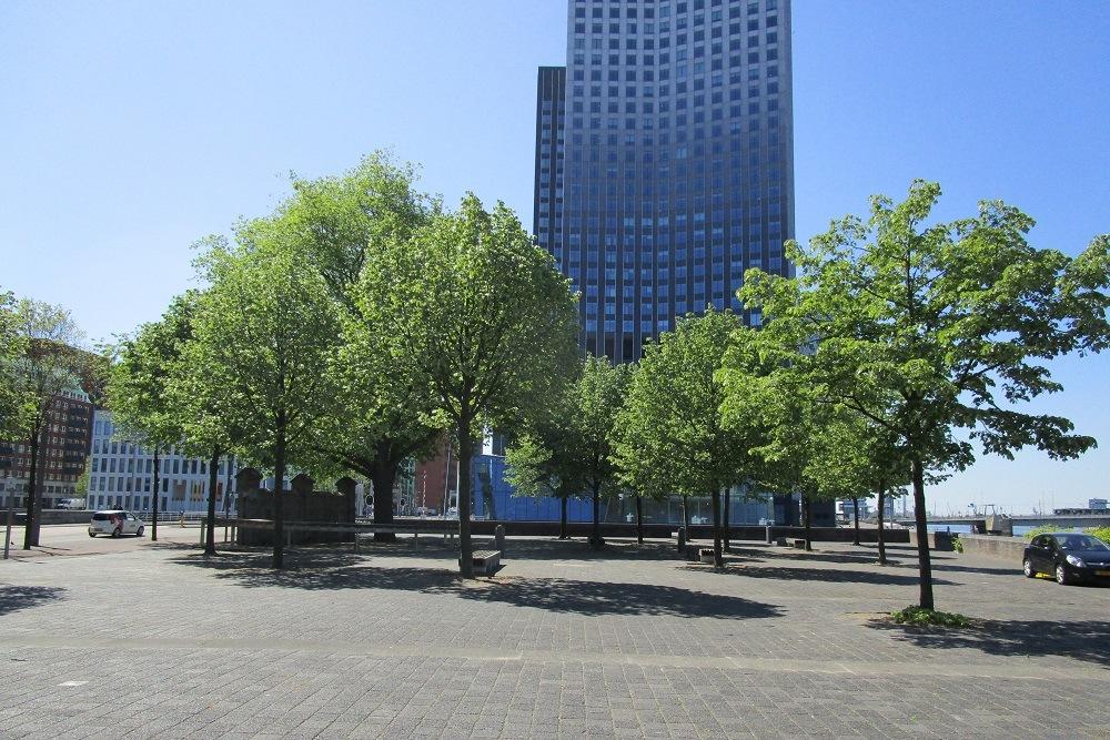 Memorial Jan Zwartendijk Rotterdam