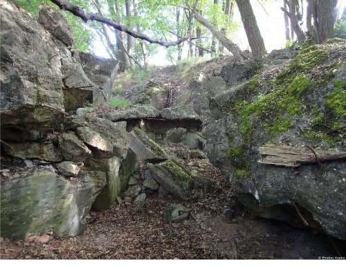 Westwall - Remains Regelbau 108b Bunker Dillingen