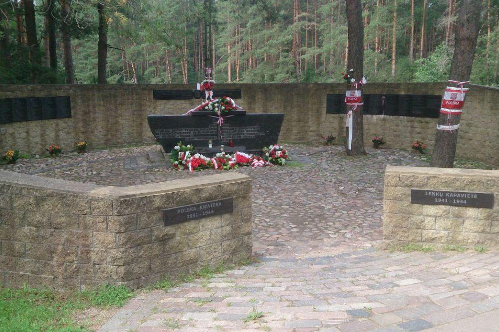 Monument Massacre Polish Inhabitants Vilnius