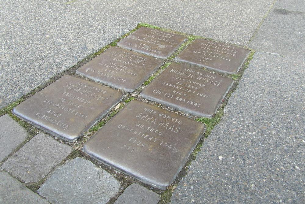 Stolpersteine Gladbacher Straße 46