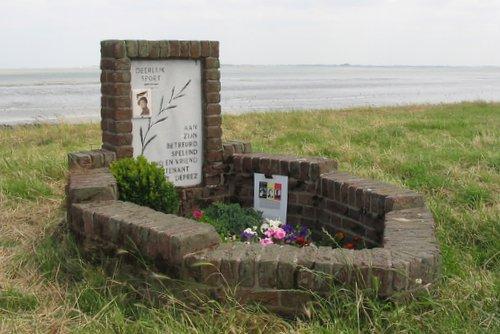 Monument voor Luitenant Robert Deprez (Handley Page Halifax)