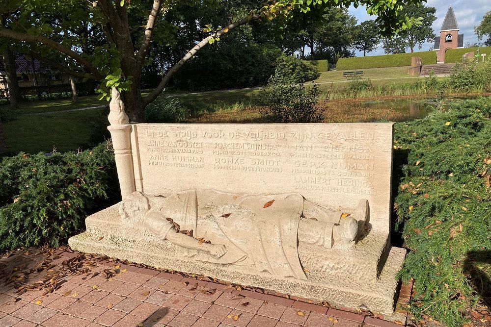 Oorlogsmonument Algemene Begraafplaats Gorredijk